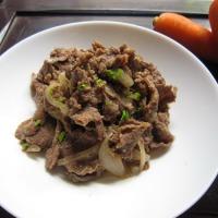 Bulgogi (Thịt bò tẩm ướp kiểu Hàn Quốc)