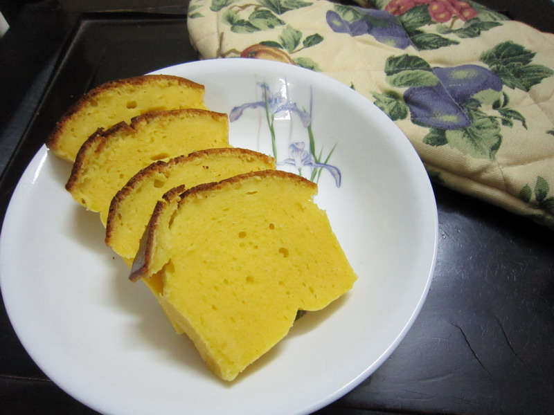 Butterless yogurt and orange cake 1