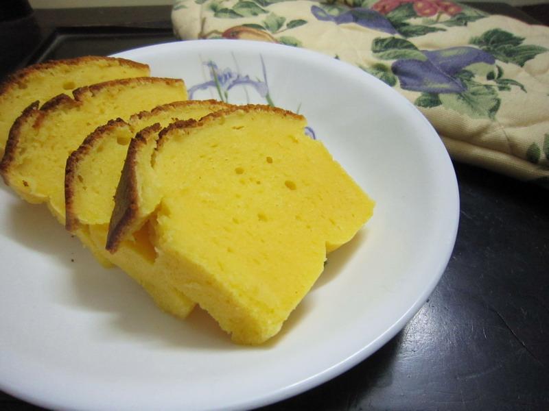 Butterless yogurt and orange cake 2