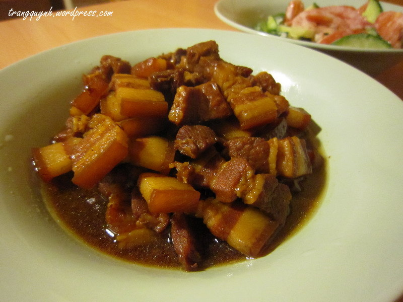 Caramelized braised pork 2