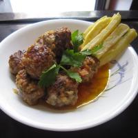Italian Meatballs (Thịt viên sốt cà chua kiểu Ý)