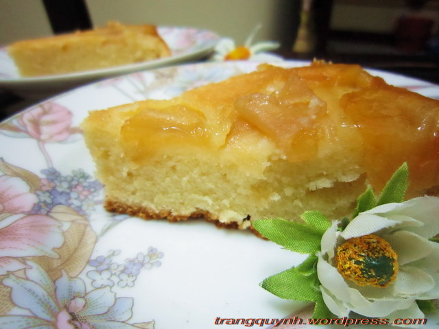 Apple upside down cake 1