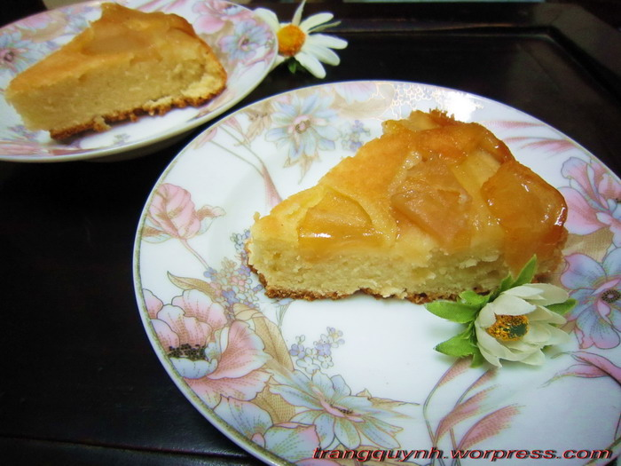 Apple upside down cake 2