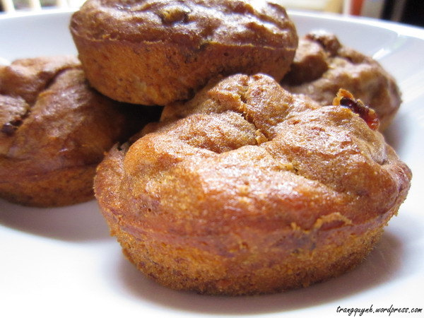 Banana coffee muffins 3