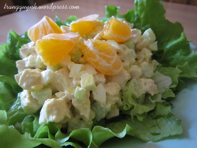 Nutty orange chicken salad 2