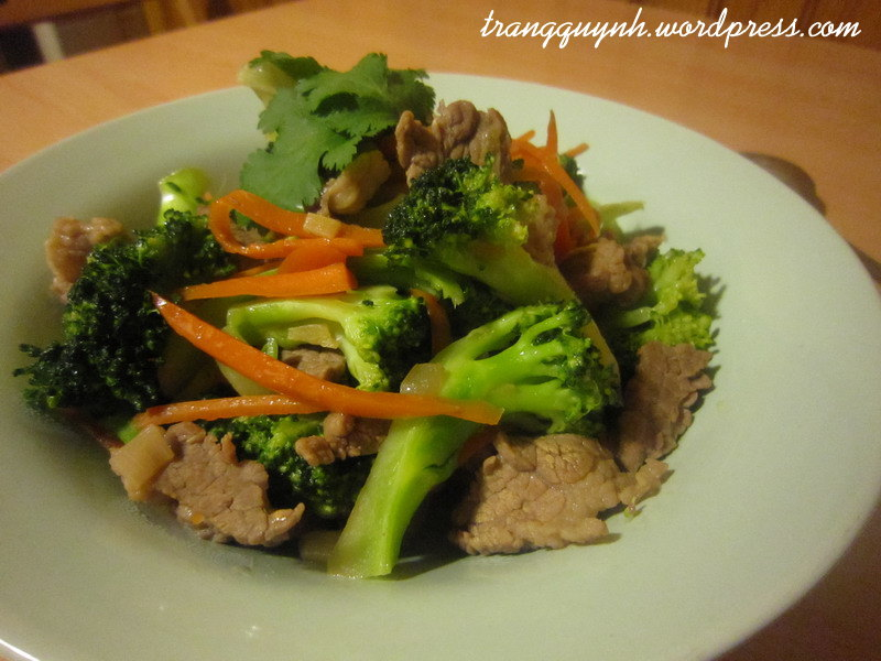 Beef and broccoli stir-fry 2