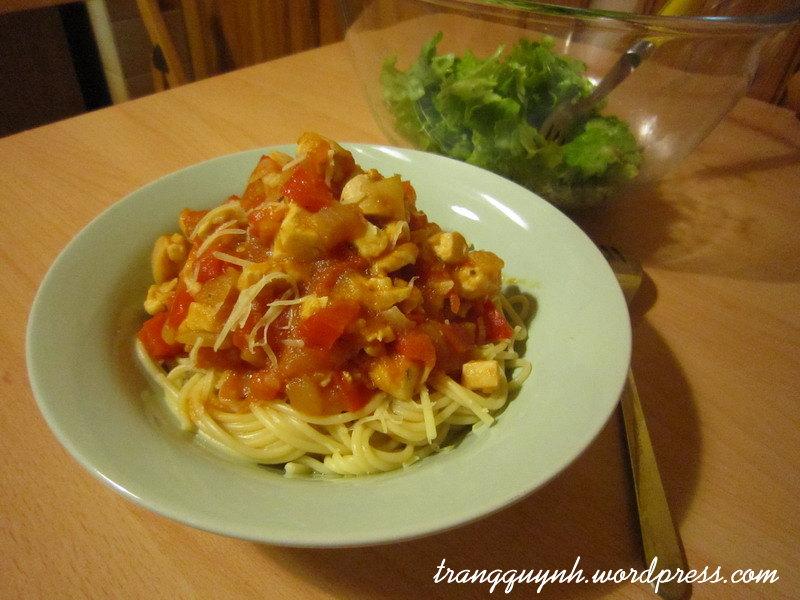Chicken pasta 1