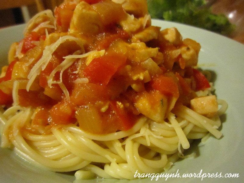 Chicken pasta 3