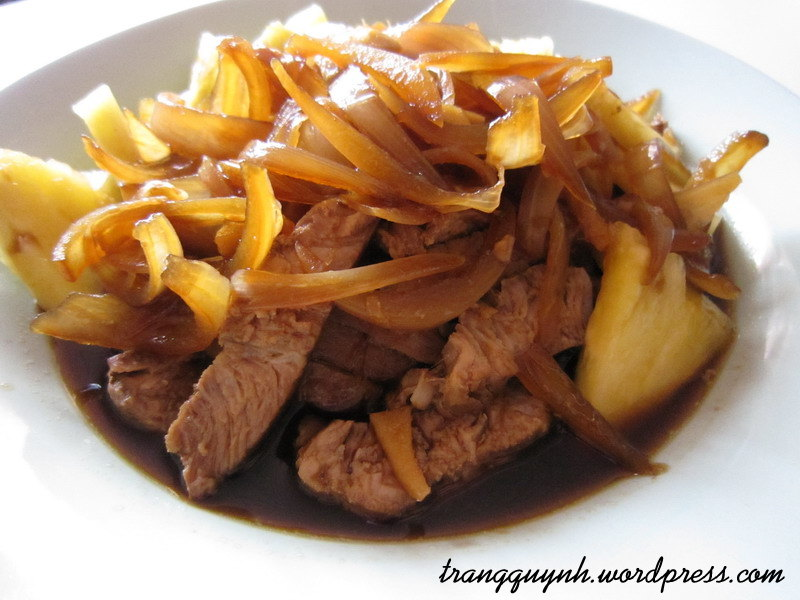 Hawaiian pork chops 2