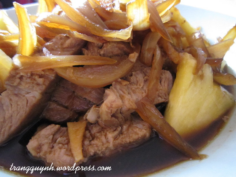 Hawaiian pork chops 3