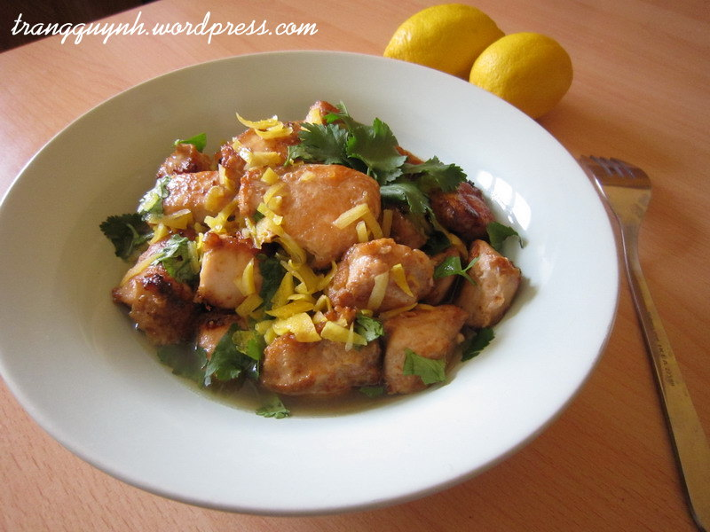 Lemon chicken breast 1