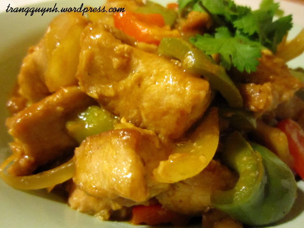 Sweet and sour pork 3