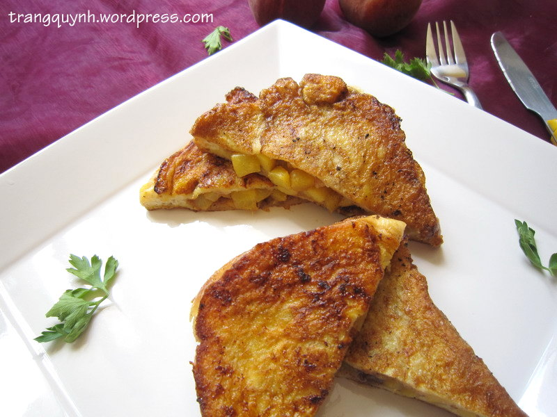 Peach french toast 2