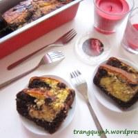 Bánh Loaf vân Chocolate / Chocolate Marble Cake