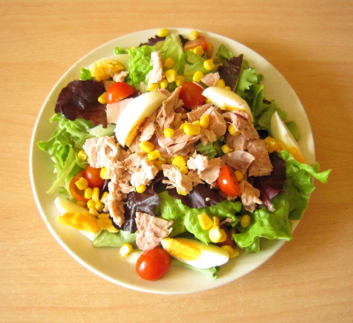 Bữa nay ăn gì 2: Salad Cá Ngừ