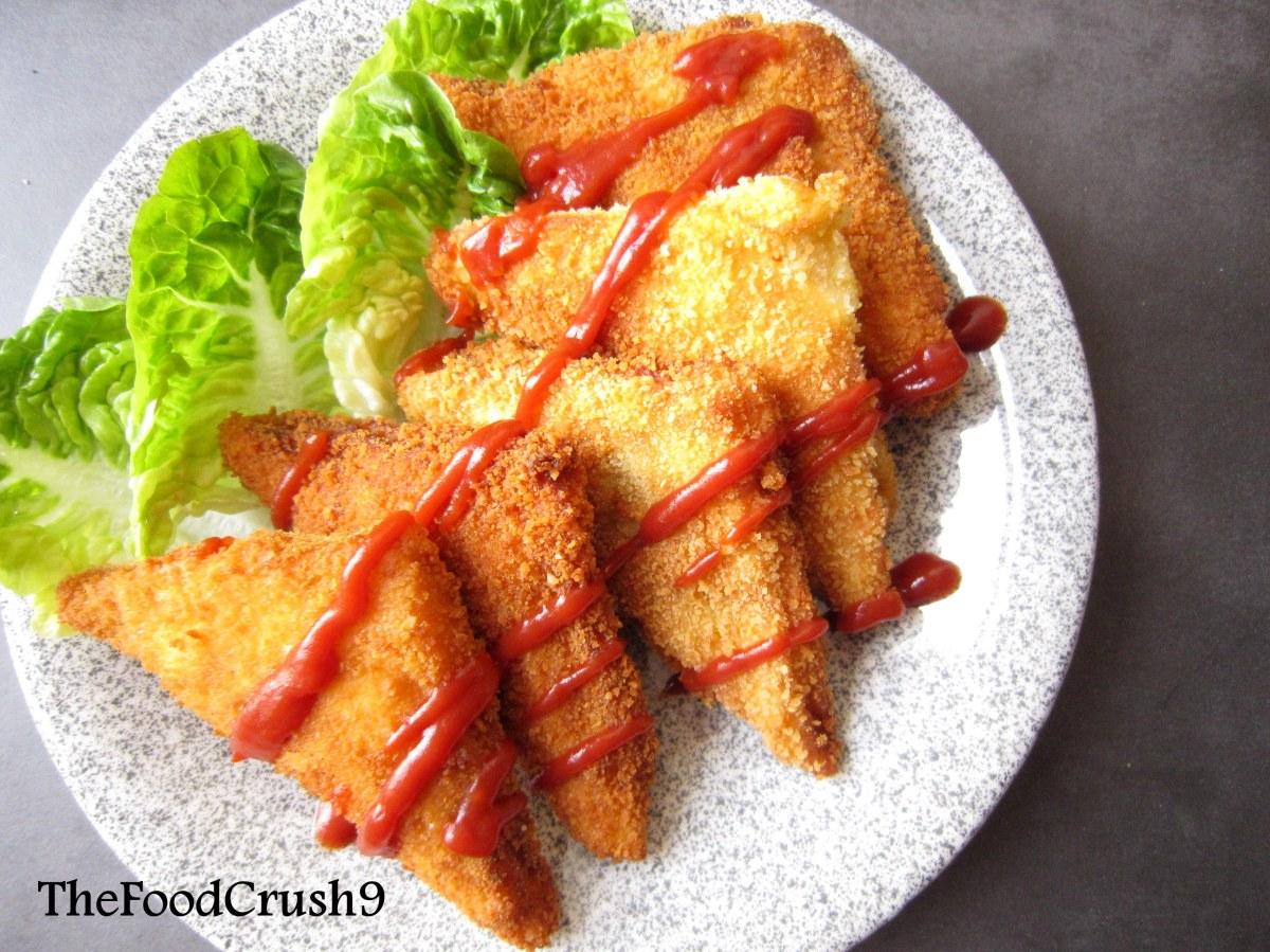 Bánh mỳ nhân Cà ri kiểu Nhật (Japanese Karepan)