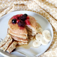 Cách làm Pancake Yến Mạch tốt cho sức khỏe